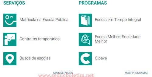 Seduc RS: Boletim Escolar Rio Grande do Sul